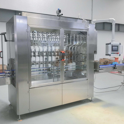 Servo Type Gel Hand Sanitizer Filling Machine