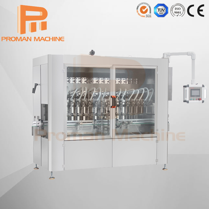 Automatic Disinfectant Bottle Filling Machine in Sale