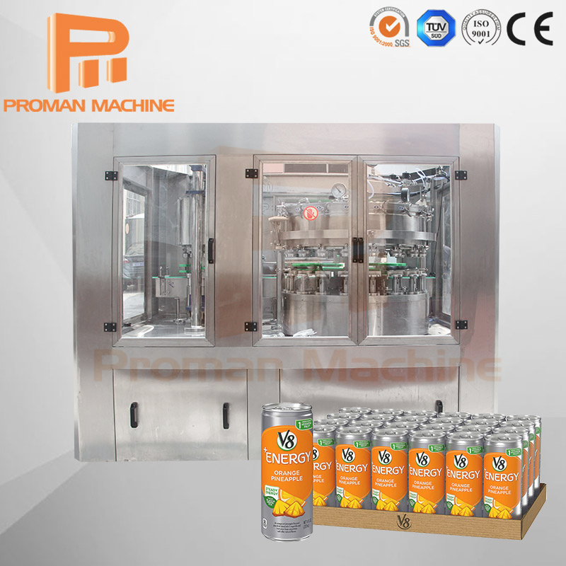 Carbonated Drink Canning Machine