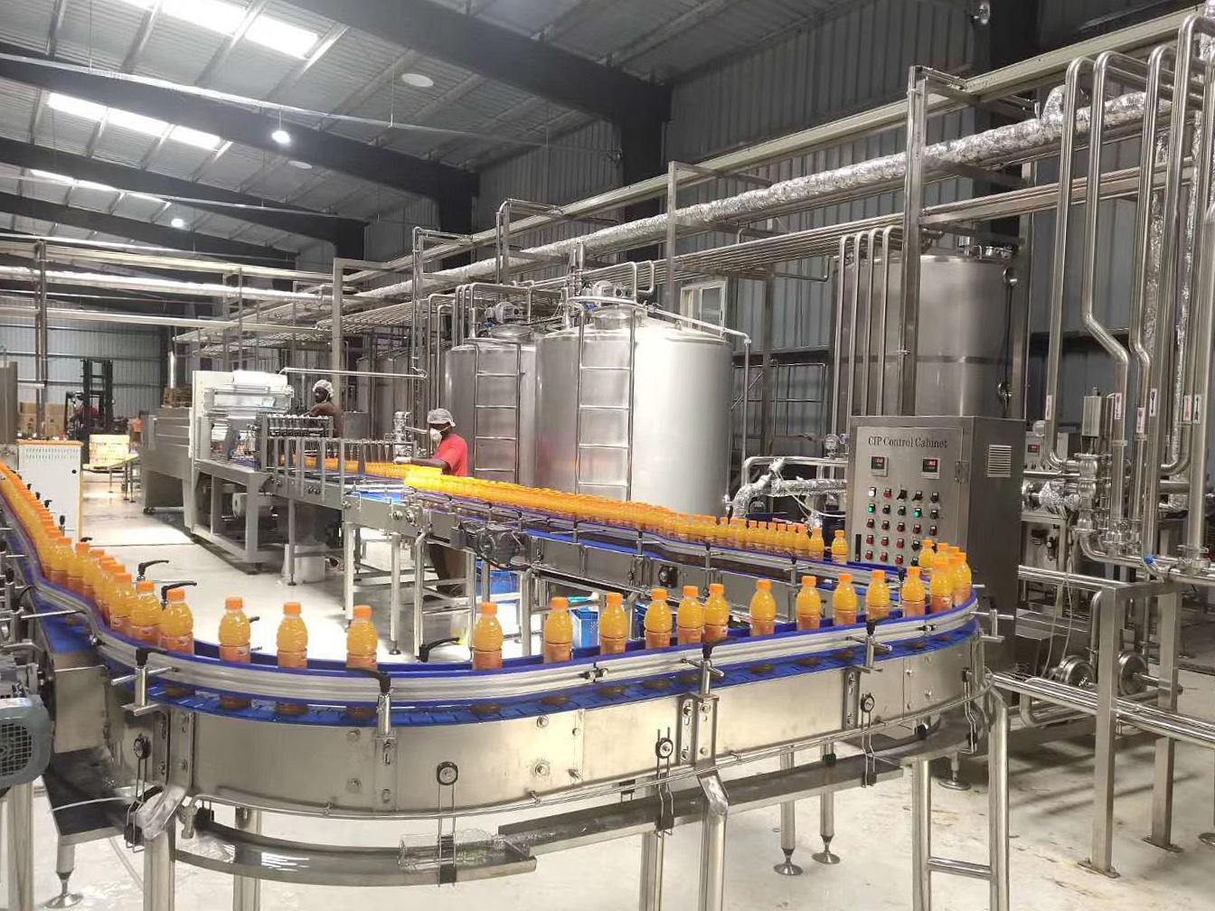 [2020 May 20] The commissioning of the 10,000 bottles per hour juice production line has been completed in Nigeria